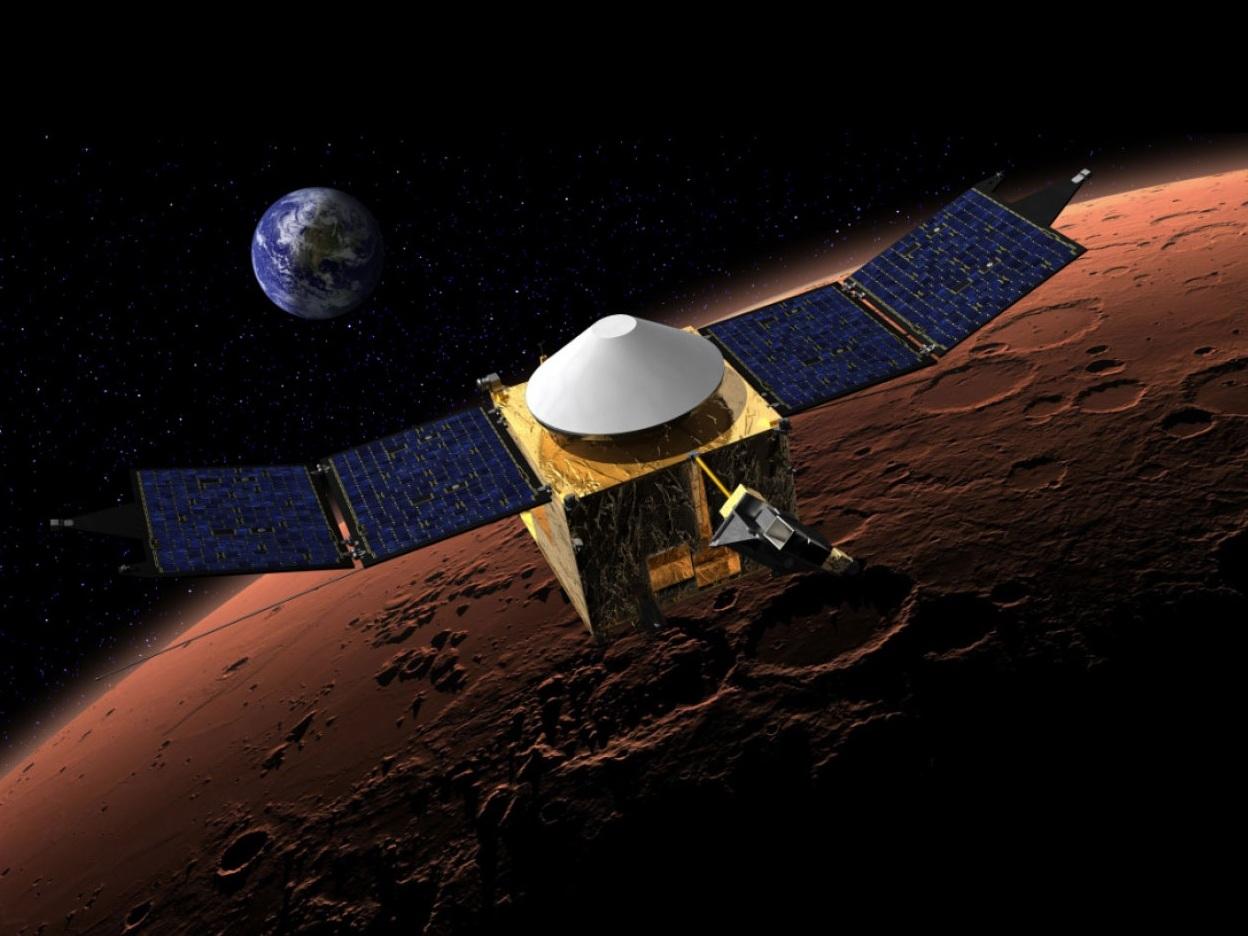 火星探査機MAVEN、マンガルヤー...